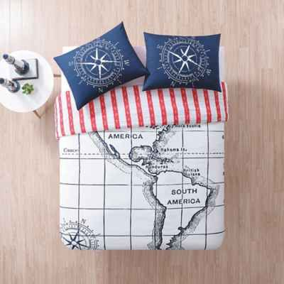 product image for Seedling by ThomasPaul® Nautical Duvet Cover Set in Ivory