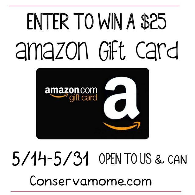 25 00 Amazon Gift Card Giveaway Amazon Gift Cards Amazon Gifts Gift Card Giveaway