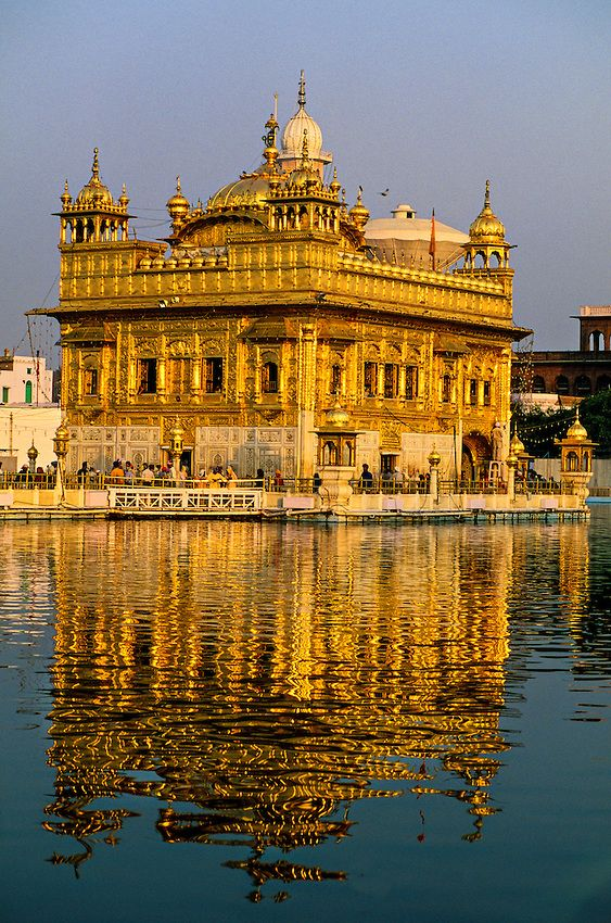 The Golden Temple ~ (holiest Sikh shrine); Amritsar; Punjab; India