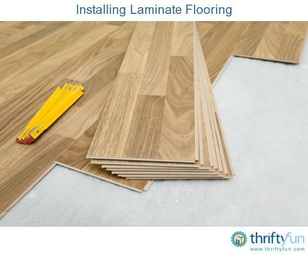 This Is A Guide About Installing Laminate Flooring Laminate Flooring Has Bec Installing Laminate Wood Flooring Installing Laminate Flooring Floor Installation