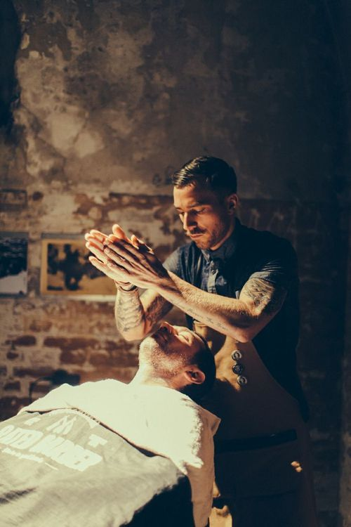 I hope to be as well-known as these other barbers when I've mastered my trade.