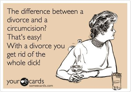 #divorce #humor #trashthedress