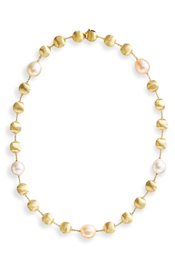 Marco Bicego 'Africa' Gold & Diamond Necklace