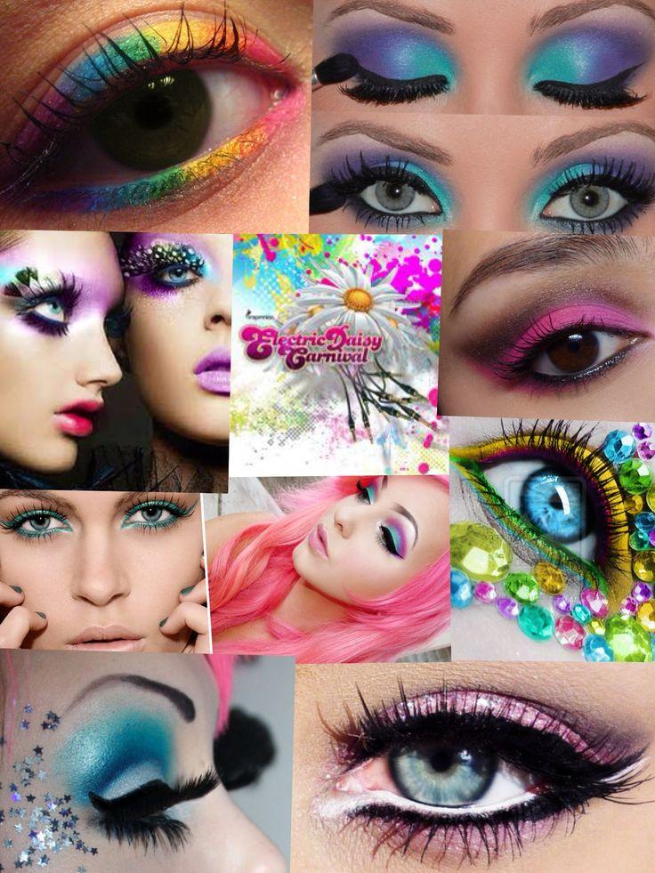 Edc Makeup Edc Pinterest Edc Festivals And Rave