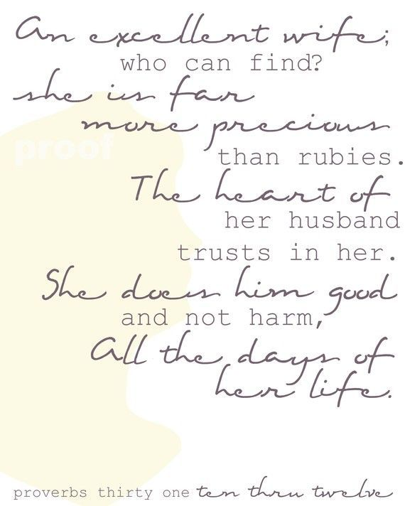 Wedding Quotes Wisdom From Proverbs 31 10 12 Old Testament