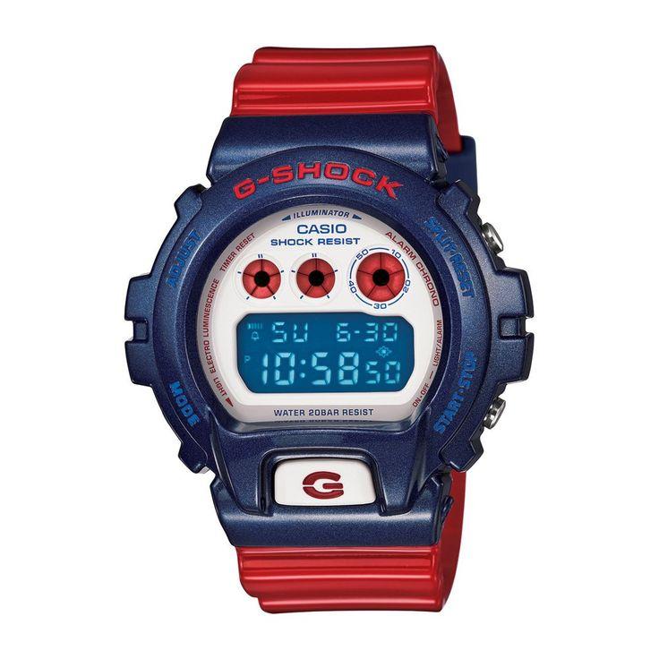 Casio G Shock G-Shock DW-6900AC-2ER Uhr Watch Montre Orologio: Amazon.fr: Montres