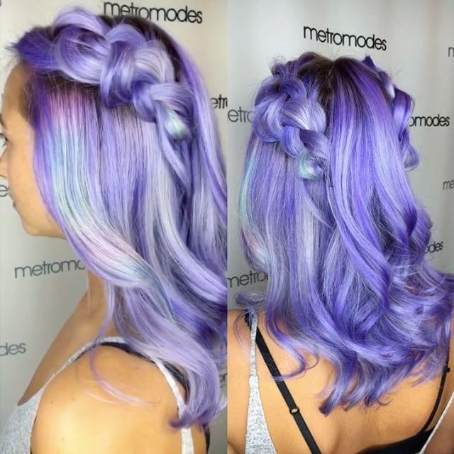 Top 100 lavender hair photos Throwbacks to my fav @nicsoul 💕 miss you. 💕 #Hotonbeauty #featurepage #beautymagazine #wellahair #wella #wellalife #wellaeducation #americansalon #hairbrained #pastelhair  #behindthechair #colormelt #balayageombre #pravana #pravanavivids #pastelgoth #ombré #balayage #metromodes #Bellmoresalons #hair #merricksalons #lavenderhair #hairpainting #mermaidhair...