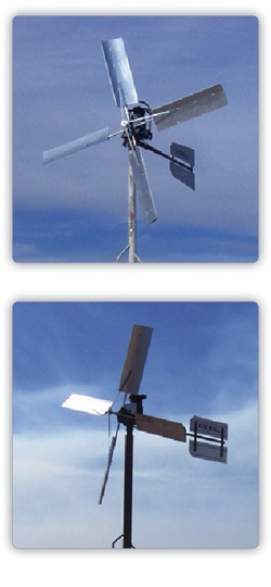 Windmill Water Pump Aeration Pond Deicer