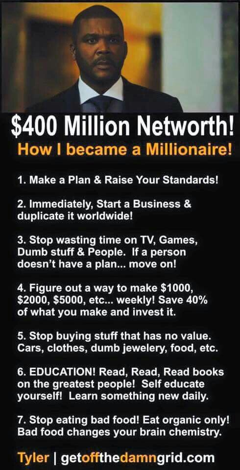 How to become a millionaire  Have a big network of executives and HR managers? Introduce us to them and we will pay for your travel. Email me at carlos@recruitingforgood.com