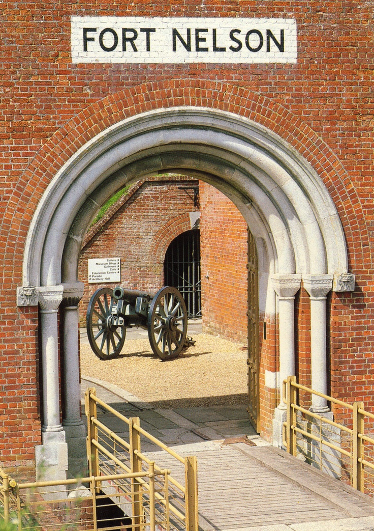 Positioned atop Portsdown Hill, with panoramic views across the Meon Valley and Portsmouth Harbour, Fort Nelson is a great way to spend a few hours - also free