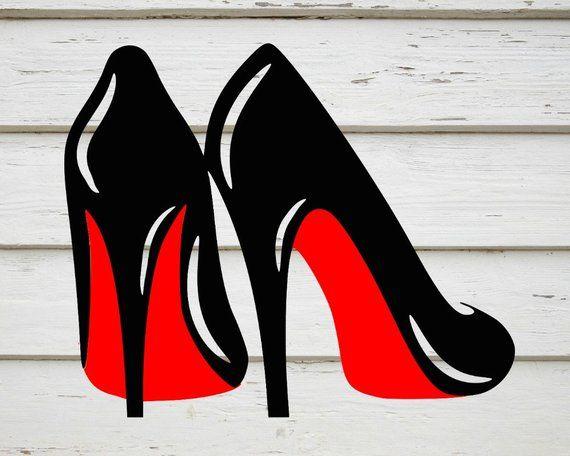 ff0927ba248 High heels svg stillettos svg louboutins svg digital download png ...