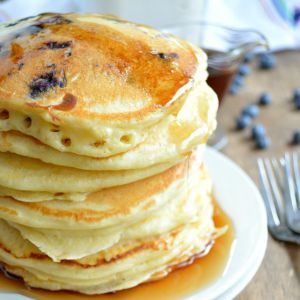 Homemade Fluffy Pancake Mix - Xmas