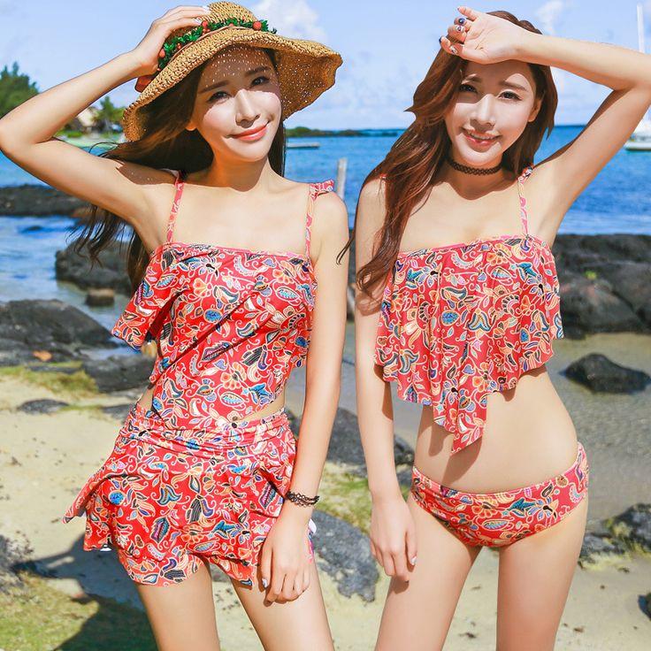 $25.60 (Buy here: https://alitems.com/g/1e8d114494ebda23ff8b16525dc3e8/?i=5&ulp=https%3A%2F%2Fwww.aliexpress.com%2Fitem%2FBikini-2016-Swimwear-Women-Skirted-Tankini-Swimsuits-Women-skirt-style-three-sets-of-swimsuit-fatos-de%2F32675358684.html ) Bikini 2016 Swimwear Women Skirted Tankini Swimsuits Women skirt style three sets of swimsuit fatos de banho Maillot De Bain for just $25.60
