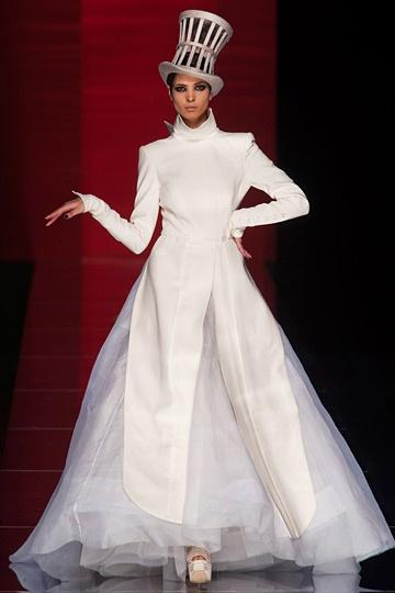Jean Paul Gaultier: A Mini-Saia Jeans, Paris Fashion, Jean Paul Gaultier, Fashion Week, Fall 2012, Jeans Paul Gaultier, Doce Paul, Couture Fall, Haute Couture