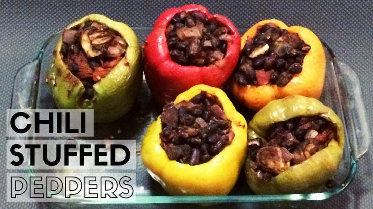 Chili stuffed peppers!