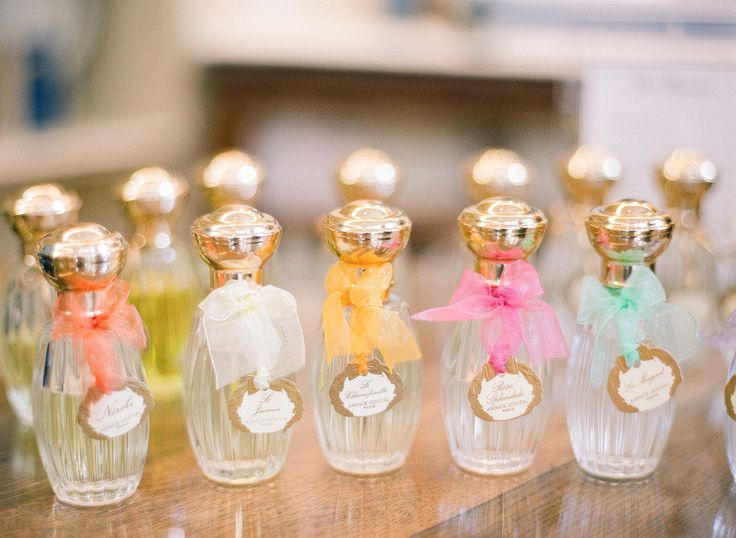 Perfume for your bridesmaids   Photography: Lexia Frank Photography - lexiafrank.com  View entire slideshow: 15 Gift Ideas For Your Bridesmaids on http://www.stylemepretty.com/collection/311/