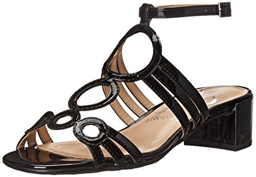 JRenee Womens Terri Dress Sandal Black 75 W US *** You can find out more details at the link of the image.