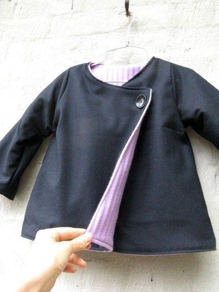 Mademoiselle coat - PDF pattern