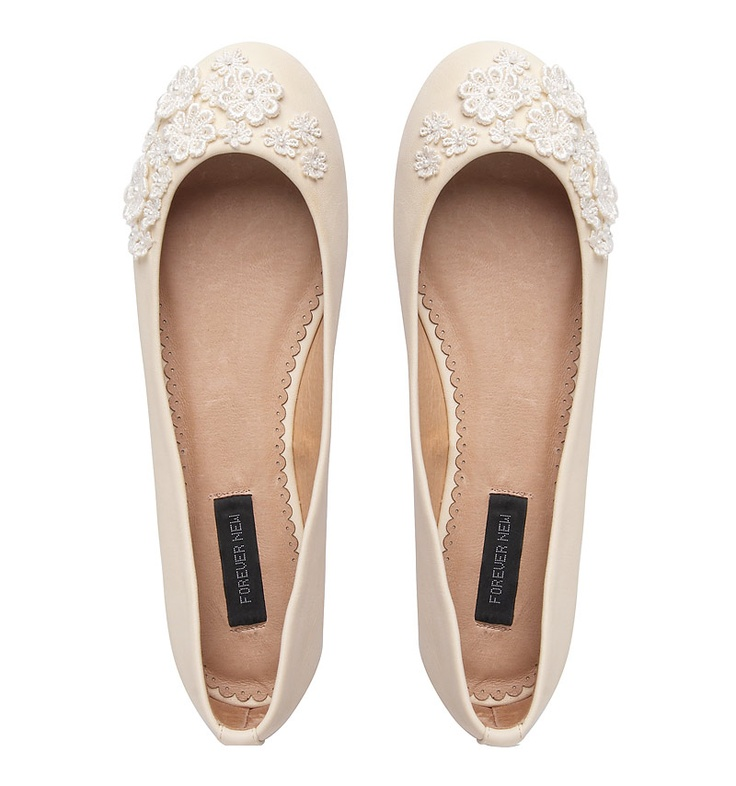 Nothing flat about these flats: Ladonna floral ballet from Forever New $49.99