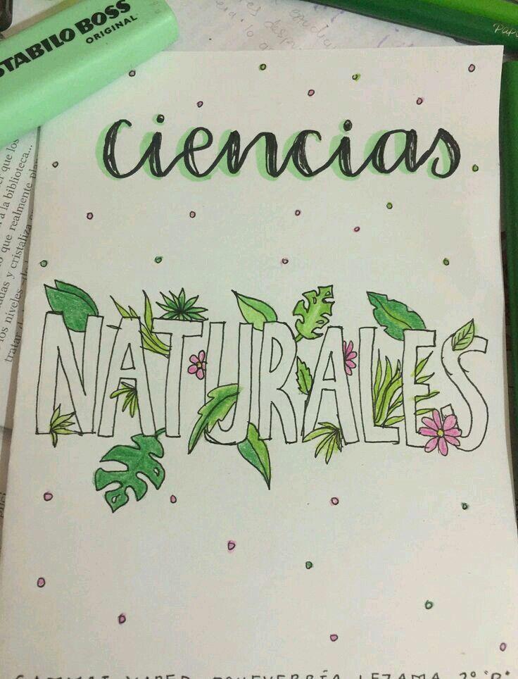 Pin De Martha García En Poradas Caratulas De Ciencias Caratulas De Ciencias Naturales Portada De Cuaderno De Ciencias