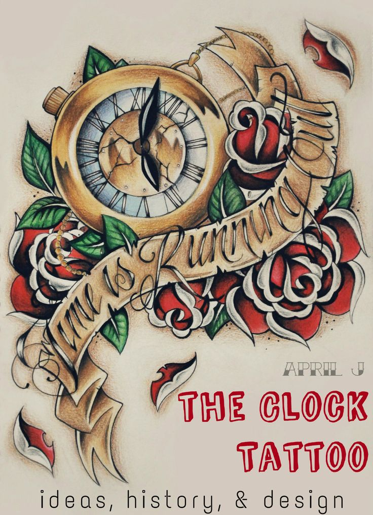Clock Tattoos: Meanings, Pictures, Designs, and Ideas