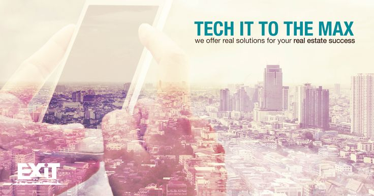 Tech it to the max with EXIT Realty's abundant technology resources! Learn more at http://exitrealty.com/technology