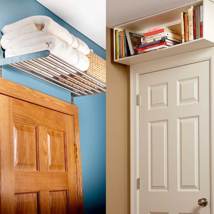 Above-the-Door Shelves- Quick Home Upgrades That Deliver Big Results