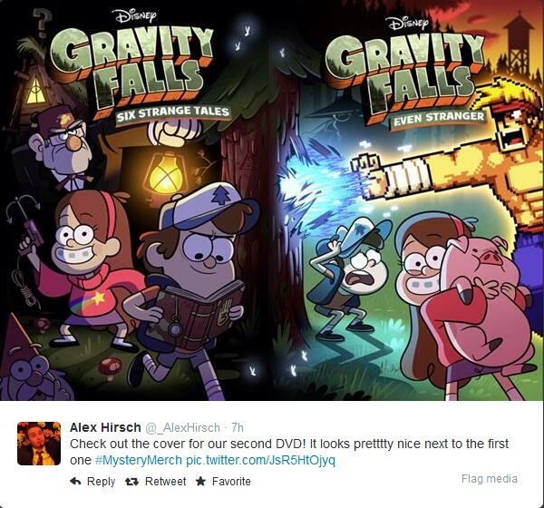 Gravity Falls S2 |OT| Mysteries, tall gingers & endless sweaters (series finale 2/15) - NeoGAF