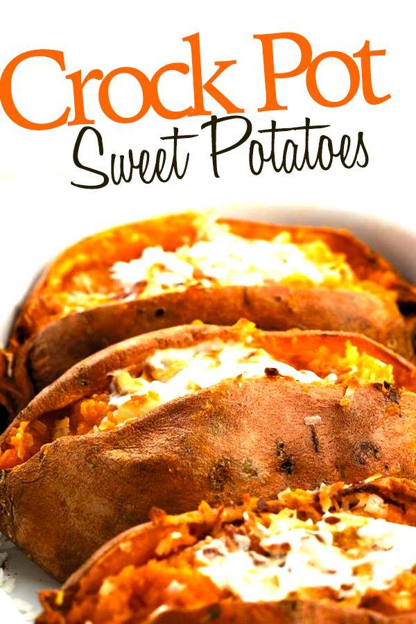 how to cook sweet potatoes in crock pot