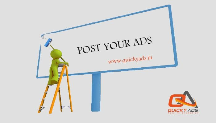 Quickyads.in - Free Classified ads.    100% free classified ads to buy/sell anything    Click here @https://goo.gl/CYsUzS to know more  #Freeclassifedsites