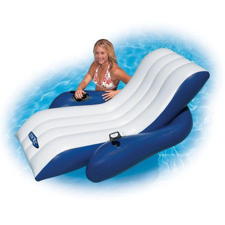 Top 25 ideas about swimming pool rafts on pinterest pool - Swimming pool floating lounge chairs ...