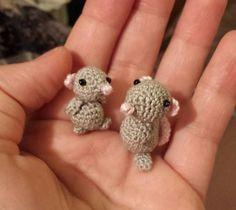 Ravelry: Maus – mouse – mini pattern by Conni Hartig – #Conni #Hartig #Maus #Min…