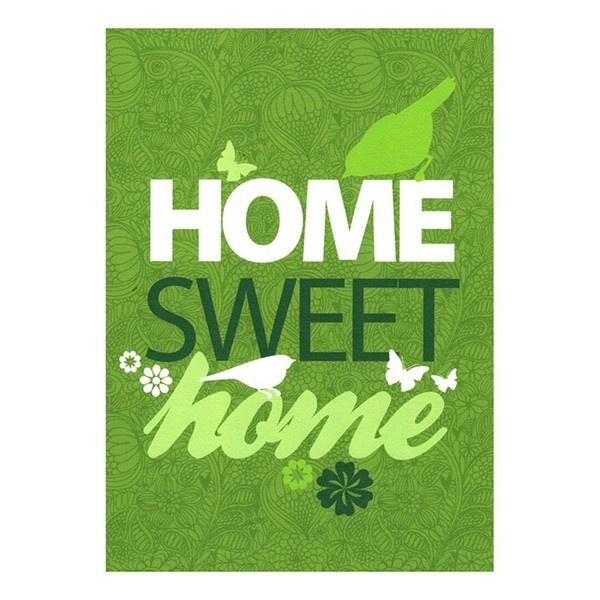 """Home Sweet Home"" Print - Prints - Art - Kiwiana & NZ Gift Shop"