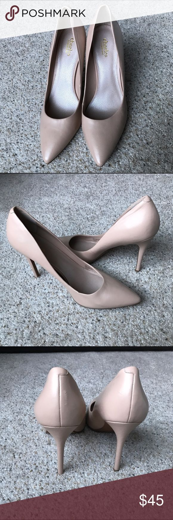New Charles David Nude Pumps New without box Charles David Shoes Heels