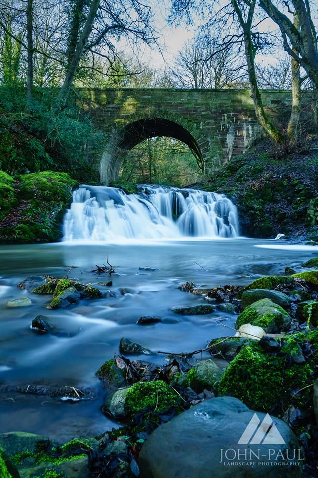 Arbrilot Falls, Scotland