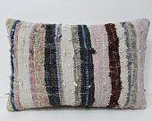 16x24 kilim pillow embroidered pillow case couch throw pillow turkish cushion cover bohemian fabric garden decorations lumbar pillow 24992