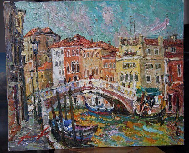 Oil on canvas. 50/70cm. 2009. Venice.