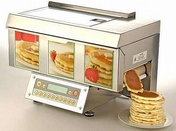 パンケーキを1枚30秒で焼いてくれる自動パンケーキメーカー「Popcake」