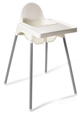 high chairs ikea and the chair on pinterest. Black Bedroom Furniture Sets. Home Design Ideas