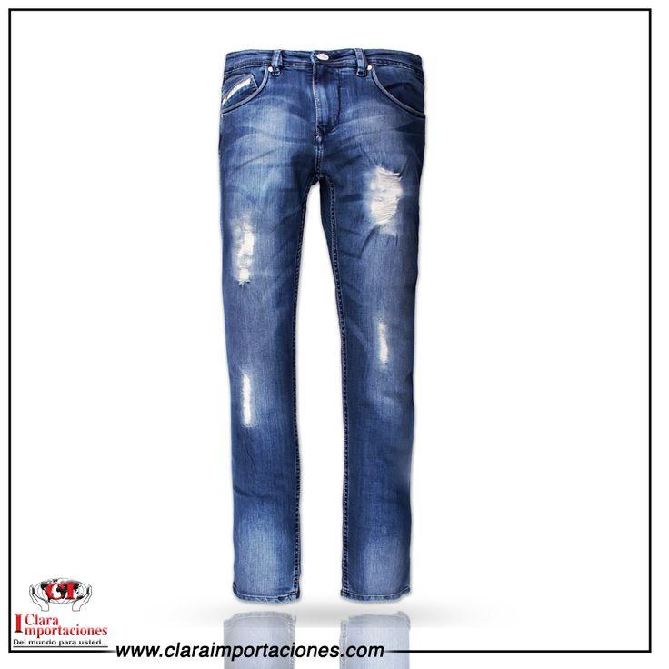 Este  año volvieron los pantalones rotos  mas fuerte que nunca si no lo tiene deberían tener al menos unos buenos  jeans rotos