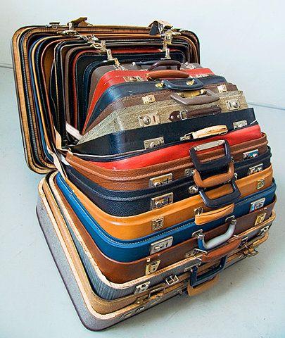 suitcases insides suitcases inside suitcases...