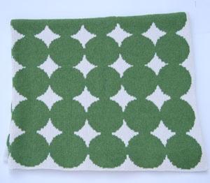 Green Dots Blanket