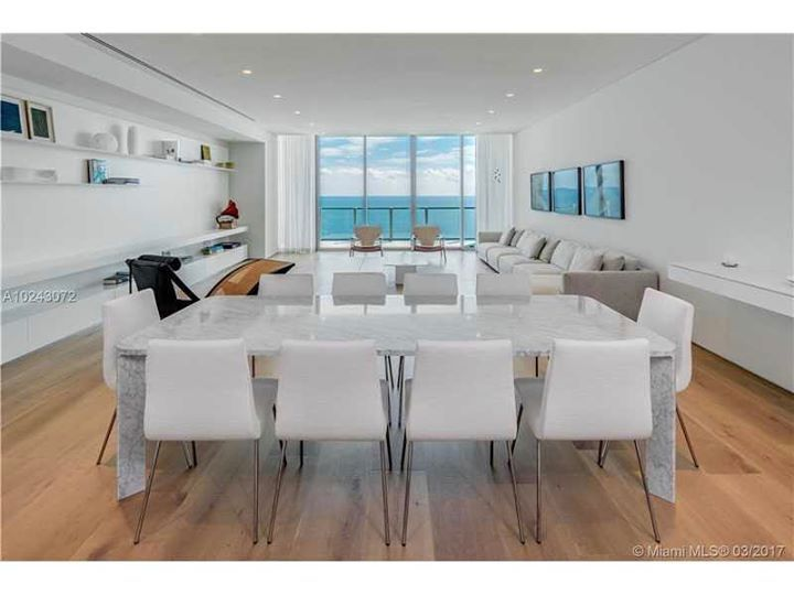 Discover tranquil beauty at its finest at Oceana Key Biscayne! This 4 bedroom / 6.5 bathroom Lower Penthouse paradise features unmatched water views throughout & awe-inspiring finishes/details including Pianeta Legno french oak floors Bisazza floors in kitchen and bathroom finishes Boffi bathroom cabinets Bartels doors and much more exceeding expectations. 24HR concierge Oceanfront fitness facility 500 feet private beach putting green media room/cinema valet/golf cart parking and much more…
