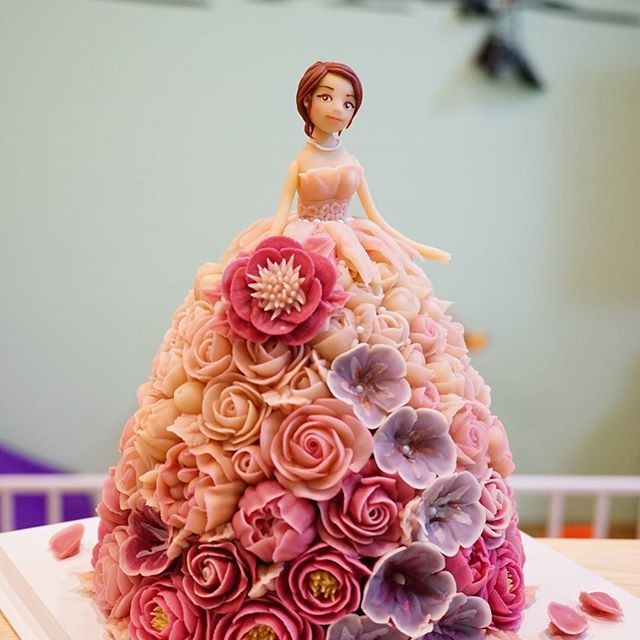 ICDA 국제 케이크 데코레이션 협회 International Cake Decoration Association All  made soybean…
