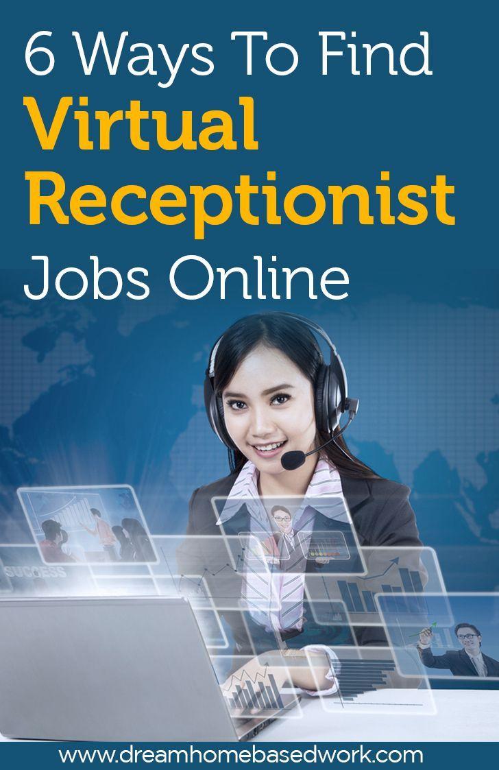 best ideas about receptionist jobs receptionist 6 ways to virtual receptionist jobs online