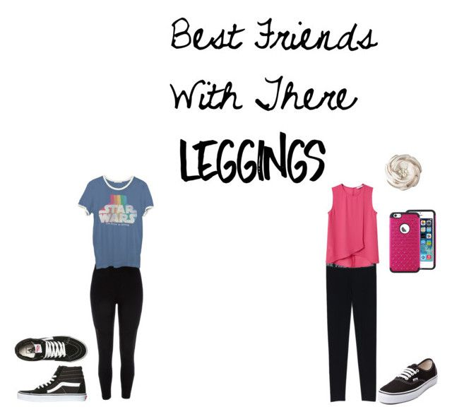 """Best friends with there leggings"" by cloeyp8 ❤ liked on Polyvore featuring River Island, Vans, Junk Food Clothing, MANGO, Leggings and WardrobeStaples"