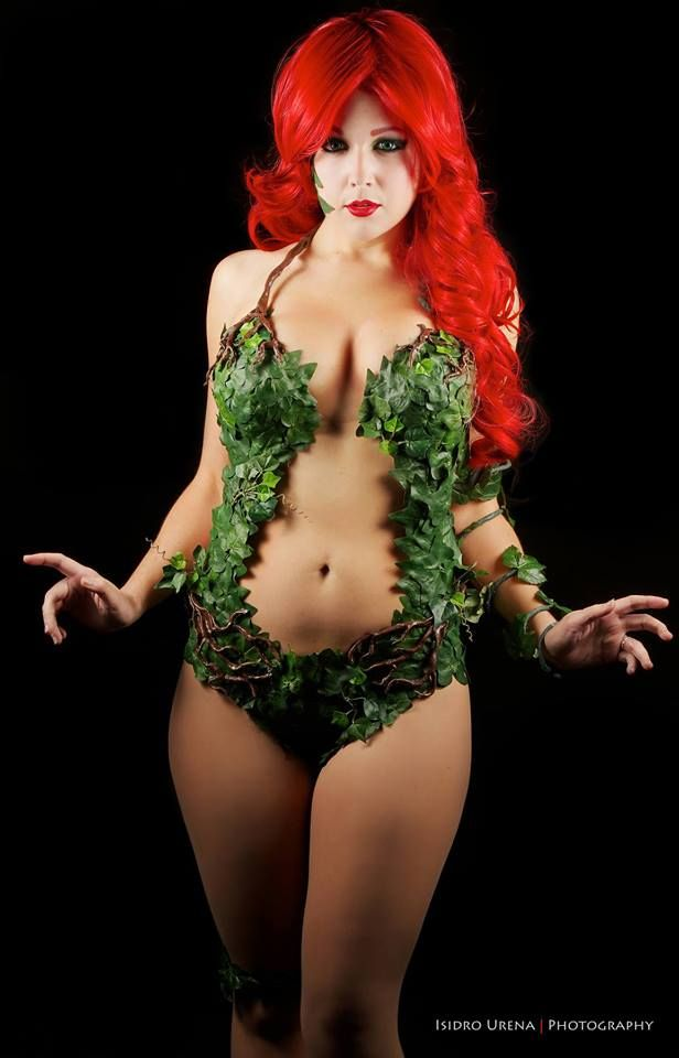 Sexiest poison ivy cosplay