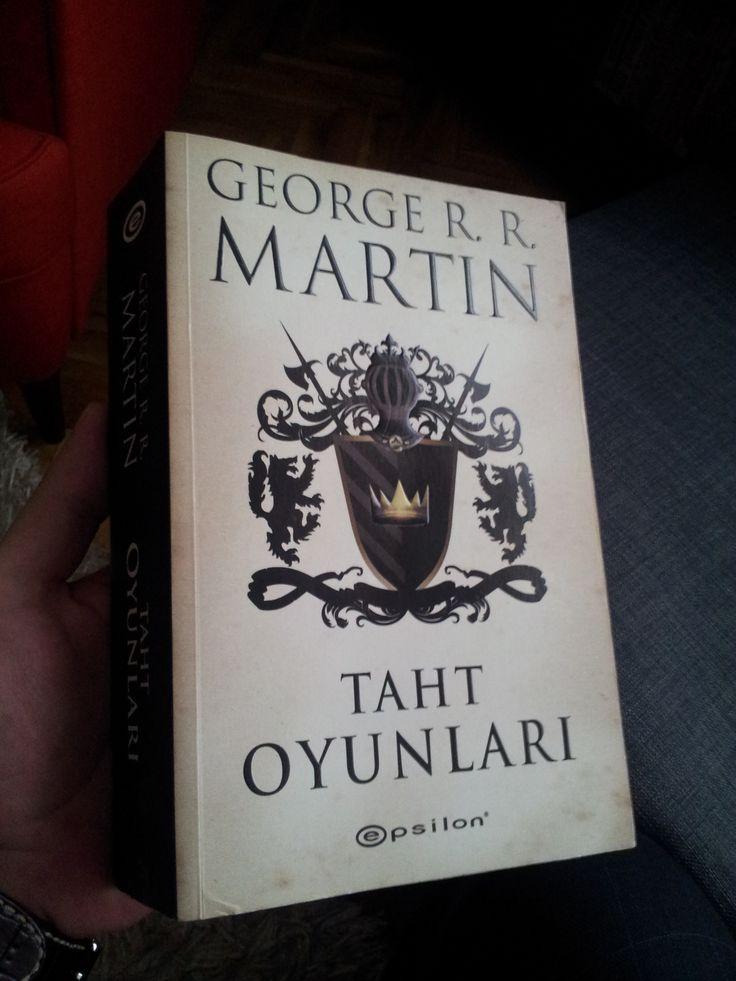 Taht Oyunları - George R.R. Martin  Buz ve Ateşin Şarkısı Serisi 1. Kitap