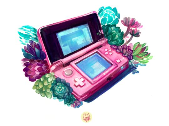 Pink 3DS · Things by Soolagna (me) · Online Store Powered by Storenvy