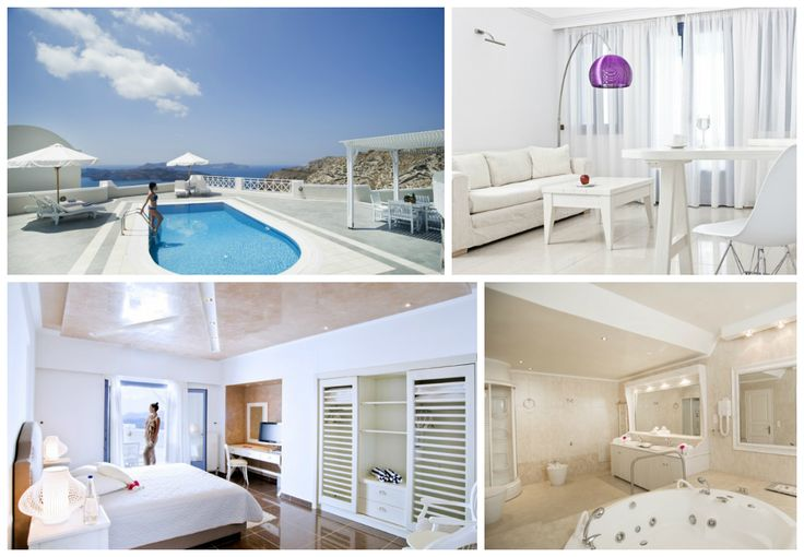 Immerse yourself in an oasis of calm… The luxurious and elegant #Villa Artemis with private #pool and astonishing #Santorini #views..The best part? It's open all year round!  http://www.volcano-view.com/
